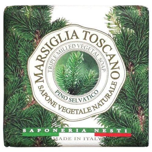 Мыло кусковое Nesti Dante Marsiglia Toscano Pino Selvatico, 200 г nesti dante мыло vero marsiglia мед 150 г