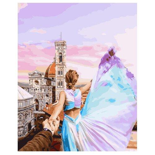 Купить ВанГогВоМне Картина по номерам Следуй за мной. Флоренция. Италия , 40х50 см (ZX 21019), Картины по номерам и контурам