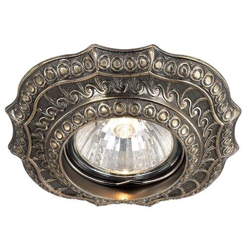 Встраиваемый светильник Novotech Vintage 369855 novotech встраиваемый светильник vintage 370180