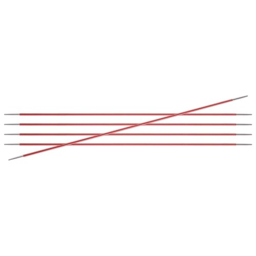 Купить Спицы Knit Pro Zing 47001, диаметр 2 мм, длина 15 см, кораловый