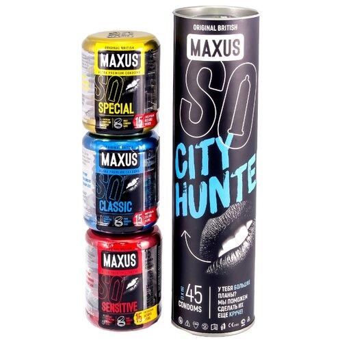 Презервативы Maxus City Hunter (45 шт.)