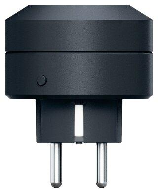 Розетка Life Control MCLH-03,10А, с заземлением, черный фото 1