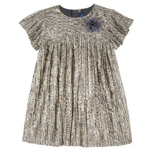 Купить Платье Chicco размер 110, серый, Платья и сарафаны