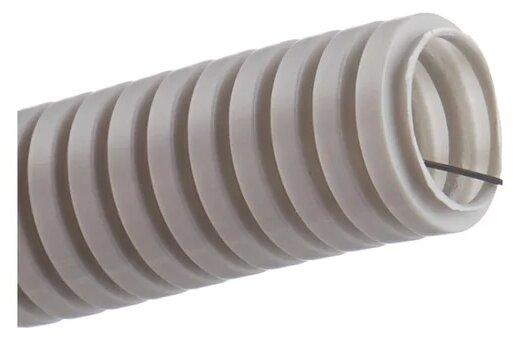 Труба гофрированная ПВХ с зондом ЭРА 25 мм x 50 м
