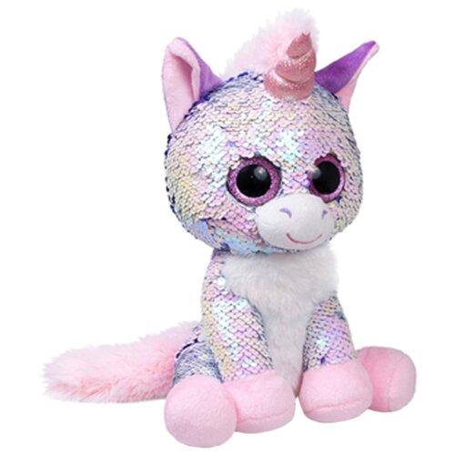 Купить Мягкая игрушка Fancy Глазастик Единорог Жемчужина 15 см, Мягкие игрушки