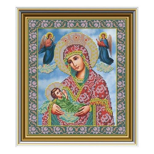 Купить Набор для вышивания бисером Икона Божьей Матери «Млекопитательница» 26 х 31 см И032, Galla Collection, Наборы для вышивания