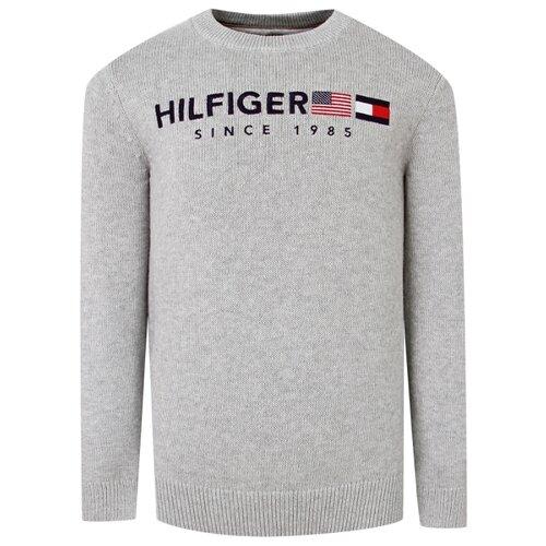 Джемпер TOMMY HILFIGER размер 128, серый
