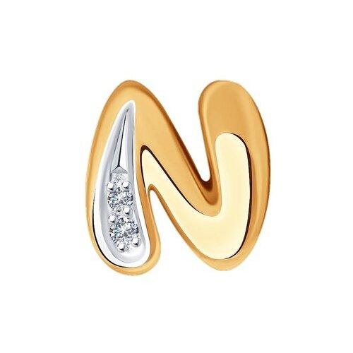 SOKOLOV Подвеска из золота с бриллиантами 1030789