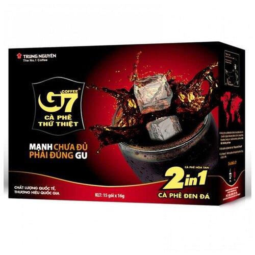 Растворимый кофе Trung Nguyen G7 2 в 1, в пакетиках (15 шт.) фото