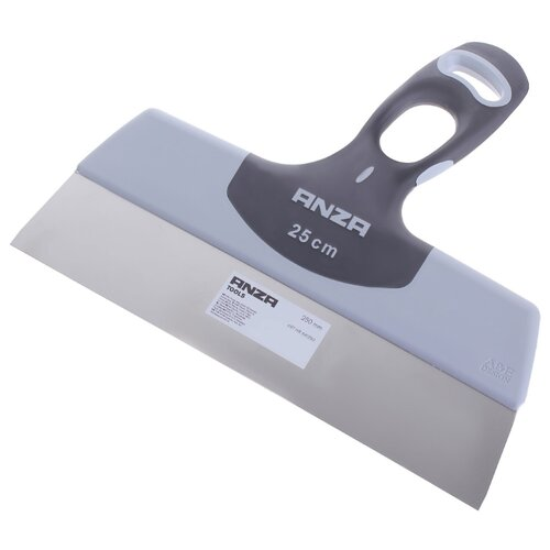 Шпатель малярный ANZA 641250 250 мм черно-белый шпатель малярный anza нержавеющая сталь 200 мм