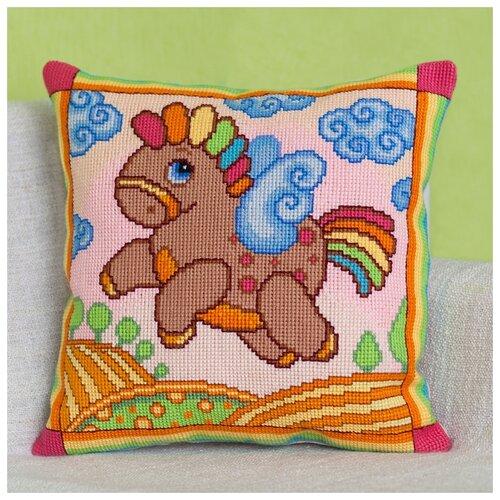 Купить PANNA Набор для вышивания Подушка Пегасик 42 х 42 см (PD-1741), Наборы для вышивания