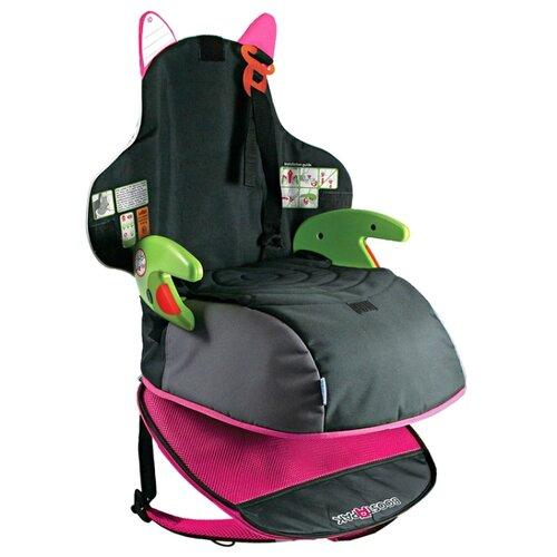 Бустер группа 3 (22-36 кг) trunki BoostApak, черный/розовый автокресло группа 1 2 3 9 36 кг little car ally с перфорацией черный