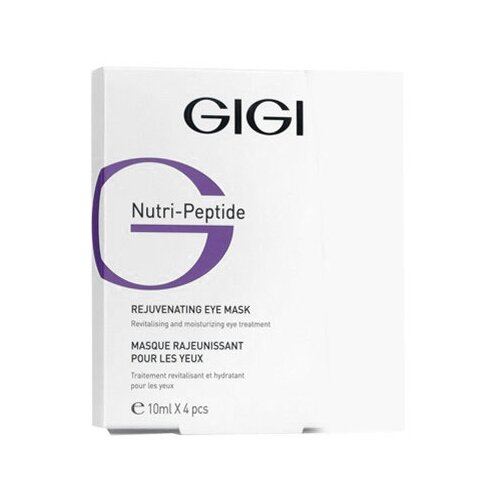 Gigi Контурная маска для глаз Nutri-Peptide Rejuvenating Eye Mask 10 мл gigi дорожный набор для идеально чистой кожи nutri peptide clean