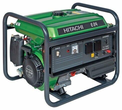 Бензиновый генератор Hitachi E24 (2200 Вт)