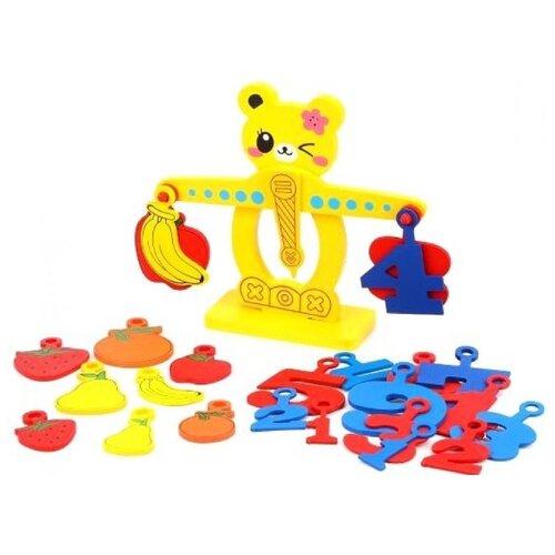 Развивающая игрушка Shantou Gepai Весы желтый