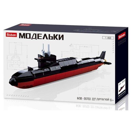 Купить Конструктор SLUBAN Модельки M38-B0703 Подводная лодка, Конструкторы
