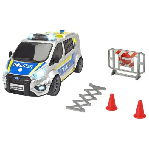 Купить Легковой автомобиль Dickie Toys Ford Transit полицейский (3715013) 28 см, Машинки и техника