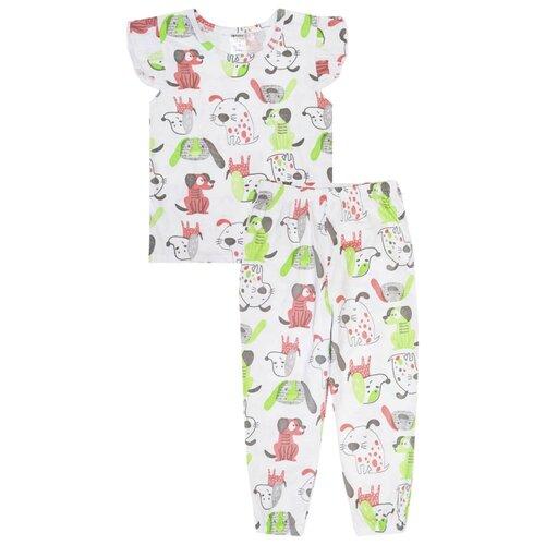 Пижама KotMarKot размер 92, белый