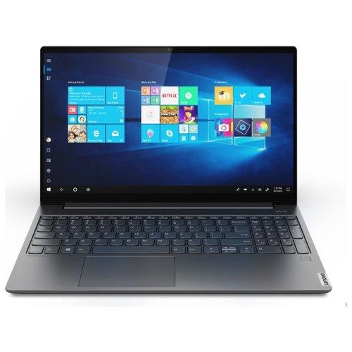 Купить Ноутбук Lenovo Yoga S740-15IRH (Intel Core i9 9880H 2300MHz/15.6 /1920x1080/16GB/1000GB SSD/DVD нет/NVIDIA GeForce GTX 1650 MAX-Q 4GB/Wi-Fi/Bluetooth/Windows 10 Home) 81NX003TRU серый