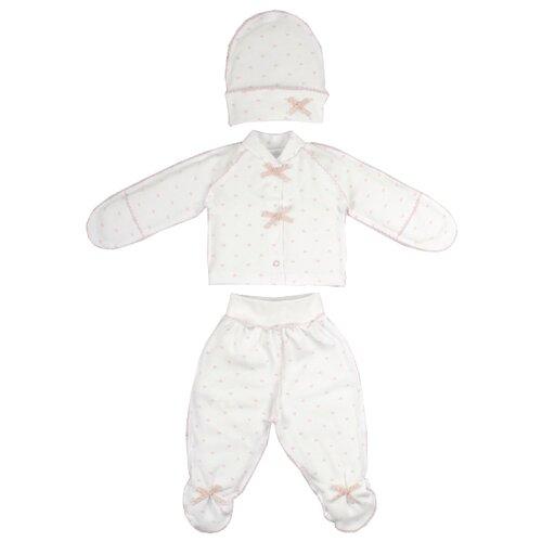 Комплект одежды Жанэт размер 62, белыйКомплекты<br>