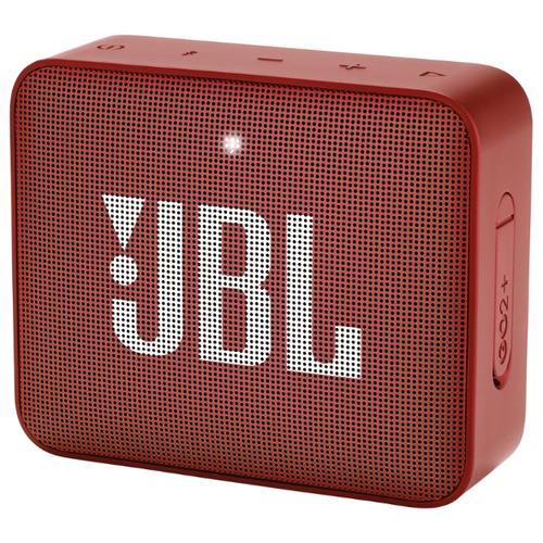 цена на Портативная акустика JBL GO 2 Plus red