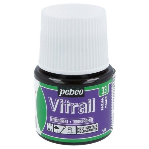 Краски Pebeo Vitrail Пармский 050033 1 цв. (45 мл.)