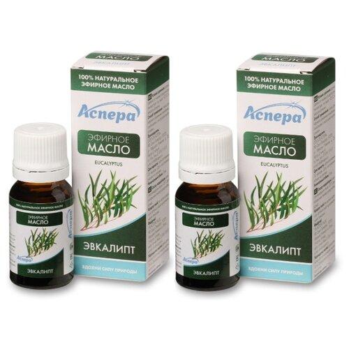 Купить Аспера набор эфирных масел Эвкалипт 2 шт. 10 мл