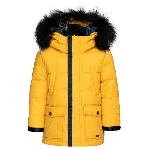 Купить Куртка Gulliver 21904BMC4104 размер 98, желтый, Куртки и пуховики