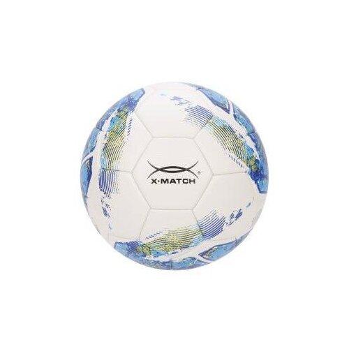 Мяч футбольный X-Match, ламинир PU+EVA, машин.обр.