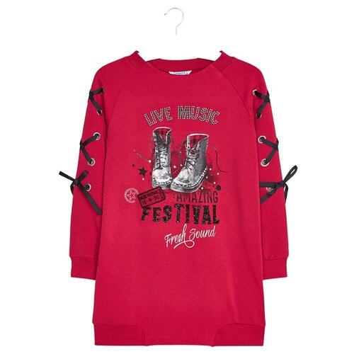 Купить Платье Mayoral размер 128, красный, Платья и сарафаны
