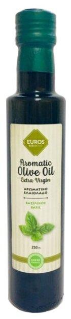 Euros Масло оливковое с базиликом