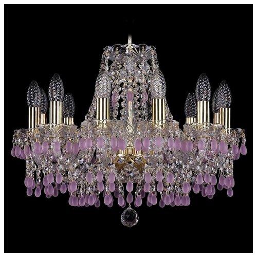 Люстра Bohemia Ivele Crystal 1410 1410/12/160/G/V7010, E14, 480 Вт бра bohemia ivele 1402b 2 160 g m701