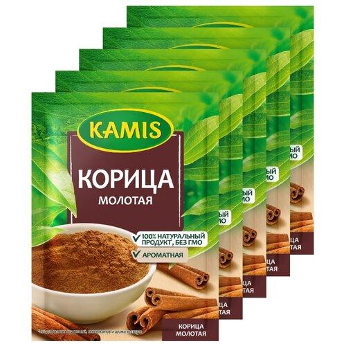 KAMIS Пряность Корица молотая, 3х15 г kamis корица молотая для выпечки
