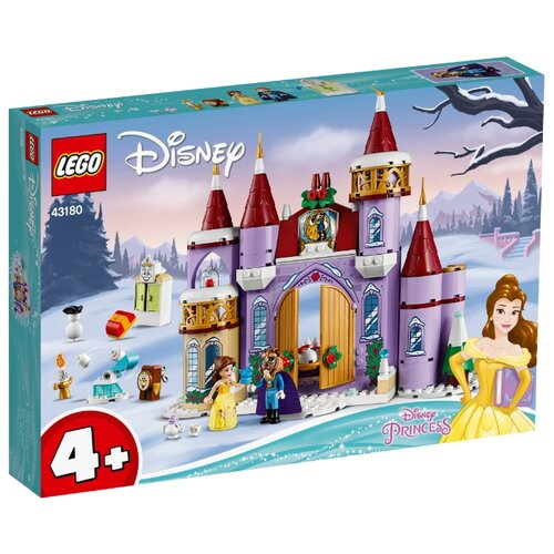 Купить Конструктор LEGO Disney Princess 43180 Зимний праздник в замке Белль, Конструкторы