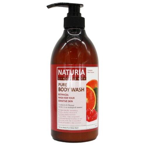 Гель для душа Naturia Cranberry & Orange, 750 мл
