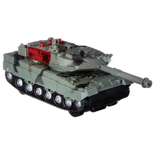 Купить Танк Zhorya V85860 зеленый камуфляж, Машинки и техника