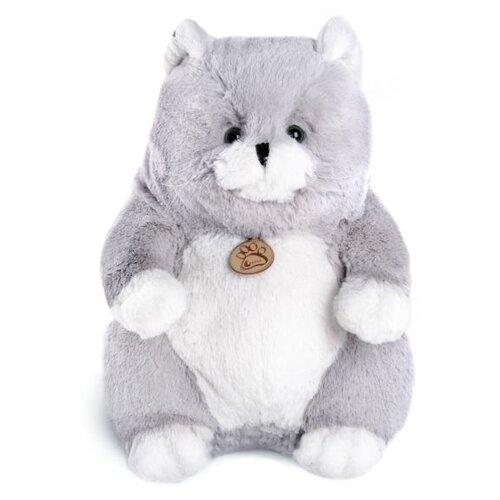 Купить Мягкая игрушка Lapkin Толстый кот серый 16 см, Мягкие игрушки