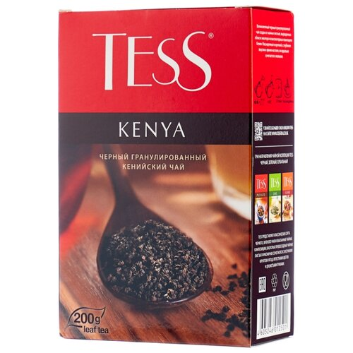 Чай черный Tess Kenya , 200 г чай черный tess pleasure с