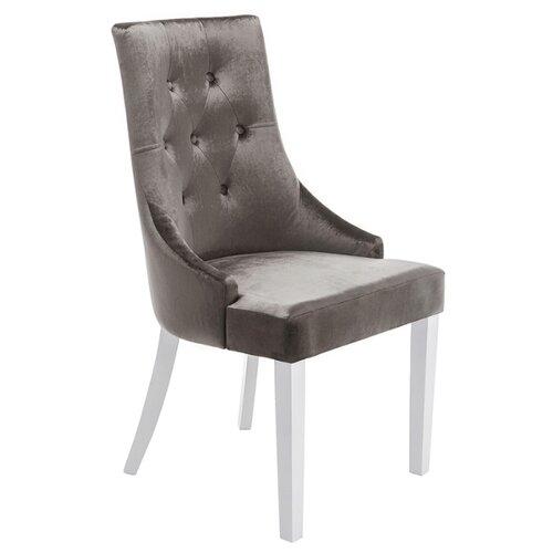 Стул Woodville Elegance, дерево/текстиль, цвет: elegance white/fabric grey стул woodville amelia дерево текстиль цвет white fabric grey