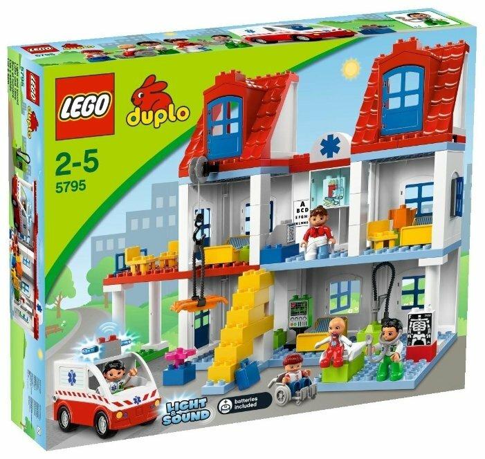 Конструктор LEGO DUPLO 5795 Большая гордская больница