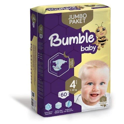 Bumble Baby подгузники 4 (7-18 кг) 60 шт.