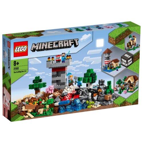 Конструктор LEGO Minecraft 21161 Набор для творчества 3.0 lego конструктор классик набор для творчества 10692 от 4 лет