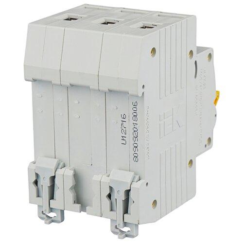 Автоматический выключатель IEK ВА 47-29 3P (C) 4,5kA 6 А iek mva41 3 050 c авт выкл ва 47 60 3р 50а 6 ка х ка с иэк