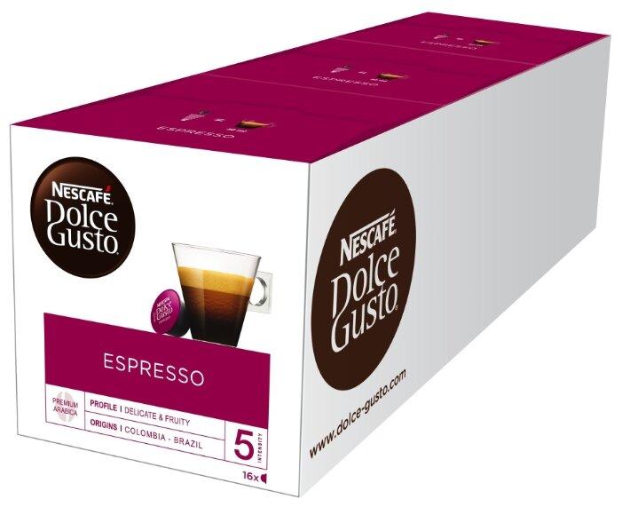 Кофе в капсулах Nescafe Dolce Gusto Espresso (48 капс.)