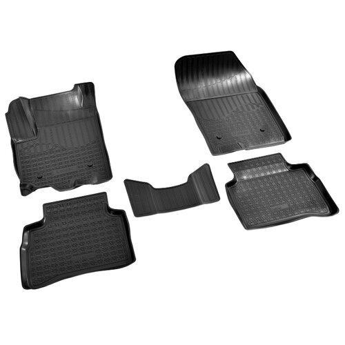 Фото - Комплект ковриков NorPlast NPA11-C85-750 5 шт. черный комплект ковриков norplast np11 ldc 69 250 renault koleos 5 шт черный