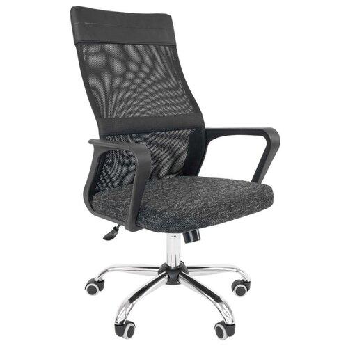 Компьютерное кресло Русские Кресла РК 166, обивка: текстиль, цвет: ткань sy черный