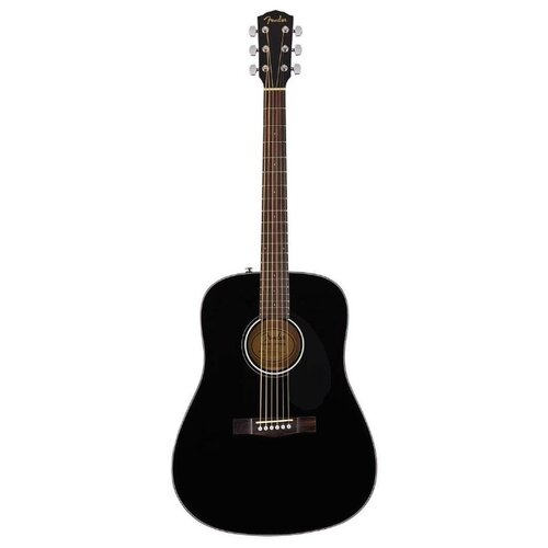 Вестерн-гитара Fender CD-60S Black