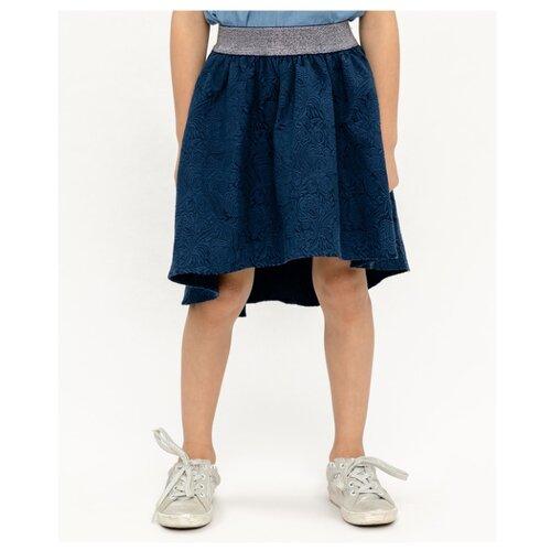 Юбка Button Blue Party размер 98, синий, Юбки  - купить со скидкой
