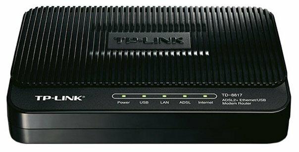Модем TP-LINK TD-8817