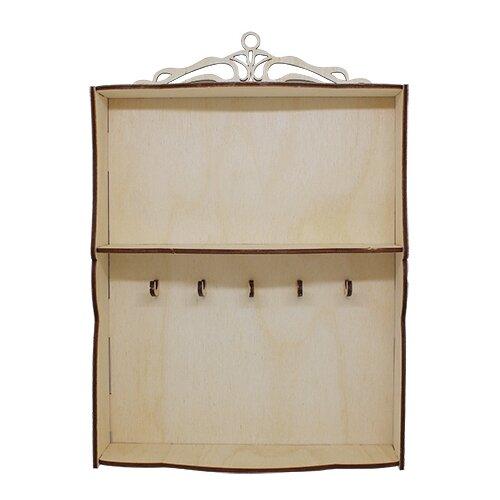 Купить Astra & Craft Деревянная заготовка для декорирования Вензелёк L-717 береза, Декоративные элементы и материалы